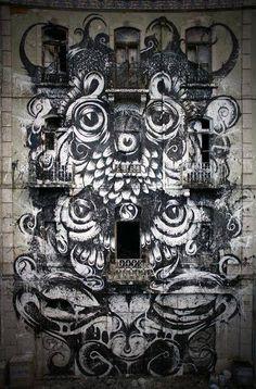 by Paulo Arraiano - Pampero Public Art Project - Lisboa, Portugal