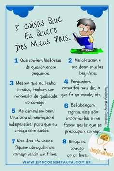 Dica para os pais. #paisefilhos #psicologiainfantil #psicologiadesenvolvimento #filhos Mother And Child, Study Tips, Kids Education, Kids And Parenting, Single Parenting, Teaching Kids, Kids Playing, Psychology, Baby Kids