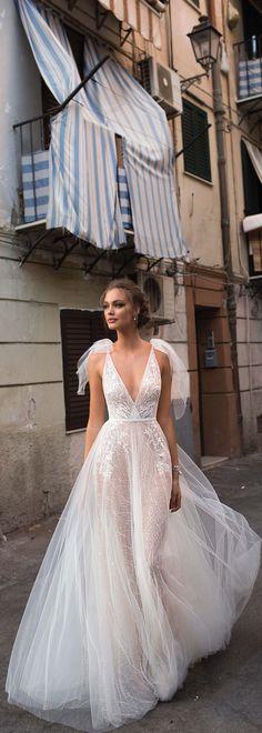 MUSE by Berta Sicily Wedding Dress Collection| #BERTA #WeddingDress #BridalGown #Bride