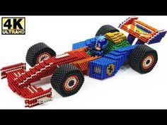 DIY How To Build Amazing Racing Car (Ferrari) From Magnetic Balls (Magnet ASMR) Music: Time less, Symmer in ny, Thinking of us F1 Racing, Asmr, Ferrari, Monster Trucks, Make It Yourself, Diy, Balls, Cinderella, Amazing