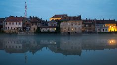 """My photo """"Early evening in the river Kupa"""" has been awarded from Photo One Editor. Thanks, I'm proud! #award   #awards   #river   #blue   #photo   #photography   #pics   #pictures   #town   #city   #reflection   #house   #buildings   #Canon   #twilight   #night   #light   #Croatia   #Hrvatska   #Karlovac"""