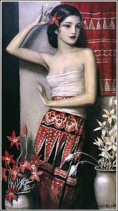 """Władysław Teodor ""W.T."" Benda was a Polish painter, illustrator, and designer."" -- Wikipedia"