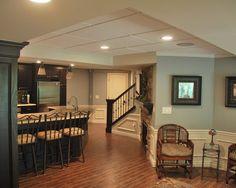 Basement - traditional - basement -