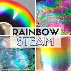 Our top 10 picks for making rainbows STEM activities you can try this Spring. Cool rainbow STEAM for home or school. Easy rainbow science ideas for kids.
