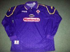 8d59a179e 1997 1998 Fiorentina L s Home Football Shirt Adults XL Top Maglia Italy  Classic Football