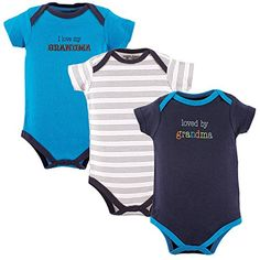 f5de04466206 Luvable Friends Baby Boys' Bodysuits Choose Your Color & Size, Infant Boy's,  Size: 0 - 3 Months