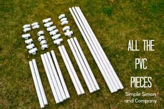 Portable Pipe Joints for Tents | Here is the breakdown of what each of these pieces are and where they ...