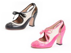 In pink, naturally. John Fluevog Shoes - Spring/Summer 2014 - Miracles Revelation