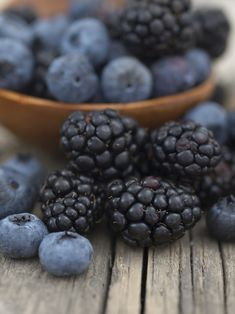 Blue berries and black berries have large amounts of antioxidants. Blue berries my reduce dementia and Alzheimers disease, research shows. DrMedicalHypnosis.com