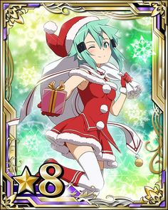 "Crunchyroll - More ""Sword Art Online - Code Register"" Christmas Outfits Joined by New Idol Promotion"
