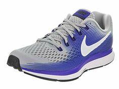 86834422899d Nike Men's Air Zoom Pegasus 34 Sneakers Gray/White/Racer Blue Size 14 880555