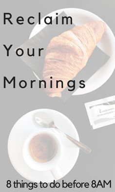 Simplify your mornings and reclaim your life. Stop the stress, frantic rushing, and the constant overwhelm by creating a better morning to set the tone for your day.