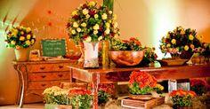 Kaury e Raphael - Até o altar!: Inspira e nao pira: Paleta de cores 1 ~ Laranja, Amarelo e Vermelho!