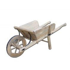 Charrette enfant ancien jouet bois 1900 1950 jouets anciens pinterest jouet bois - Brouette en bois de jardin ...