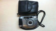 Ricoh Camera Shotmaster works 130 Super QD AF Multi 7 Zone 38-130mm and case BX8 #Ricoh