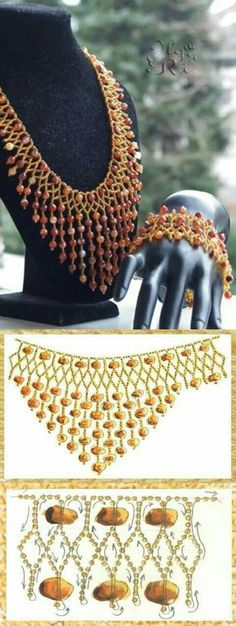 Best Seed Bead Jewelry 2017 netting with dangles schema Seed Bead Tutorials Necklace Tutorial, Diy Necklace, Necklaces, Beaded Necklace Patterns, Beaded Bracelets, Jewelry Crafts, Handmade Jewelry, Seed Bead Jewelry, Seed Beads