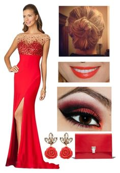 """The Jewel of His Life: Alicia's Yule Ball Dress"" by capeles on Polyvore"
