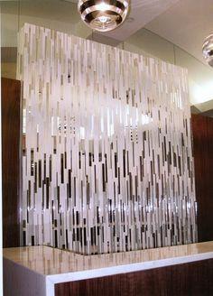 Mirror Tile Wall