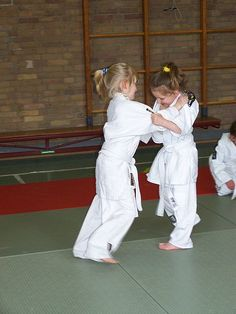 Little girls and Judo
