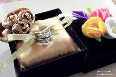 DIY Wedding Ring Bearer Pillow DIY Ring Pillow & Box