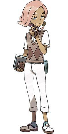 Ilima from Pokemon Sun & Moon