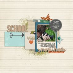 Another amazing page by @Tiffany Wheeler | Class Education Kit from peppermintcreative.com #school