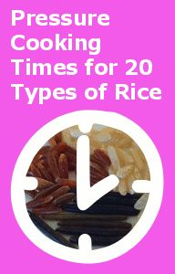 How Long Does it Take to Cook Rice in a Pressure Cooker?