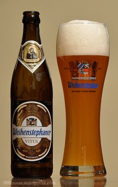 Posts about Weihenstephaner Vitus written by noslenwerd Lager Beer, Beer Brewing, Paulaner Bier, Fun Drinks, Alcoholic Drinks, Wheat Beer, Beers Of The World, All Beer, Beer Brands