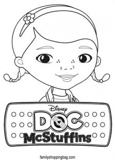 {free} Doc McStuffins, Coloring Pages