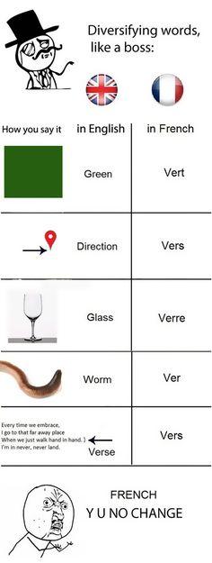 Funny French Language