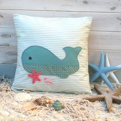 Wigsby Whale – Cushion Sewing Kit