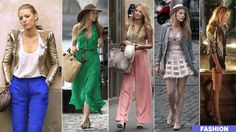 I'm in love with Blake Lively and her character Serena Van Der Woodsen's style.  My dream job is working in the costume department of Gossip Girl.