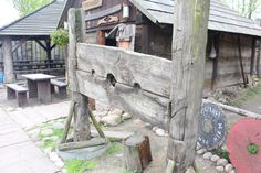 Early medieval stocks.