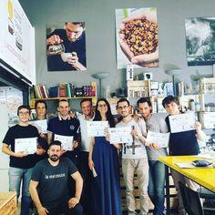 Un altro giorno di formazione volge al termine in #CoffeeTrainingAcademy a #verona. Green Coffee Foundation by @scae_community grazie @bloomcoffeeblog