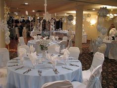 winter party decorations | Your decor will be truly unique, created especially for you.