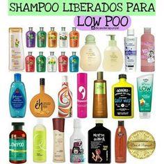 Quero Cachos:    Xampu para Low Poo Vou mostra a seguir algumas ...