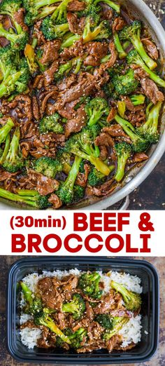 Broccoli Beef is an easy meal loaded with fresh broccoli tender nutritious and protein-packed beef and the best stir fry sauce. This Beef Broccoli Stir Fry will give you the strength and energy you need for the busy back to school season! Asian Recipes, Beef Recipes, Cooking Recipes, Healthy Casserole Recipes, Healthy Recipes, Fresh Broccoli Casserole, Easy Dinner Recipes, Easy Meals, 30 Min Healthy Meals