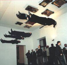 Irwin, Irwin Live, 1996, installation view at CCA, Ujazdowsky Castle, Warsaw. (Photograph by Mariusz Michalski)