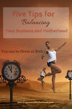 Are you struggling trying to be a successful business owner while still being a good mom?