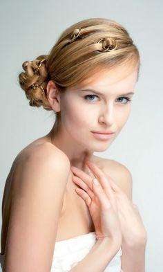 Acconciature sposa create dall' hair designer Salvo Filetti
