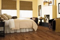 Mohawk flooring Engineered Alvarado Hickory Amber WEC47-01 Hardwood Flooring at FloorVariety.com