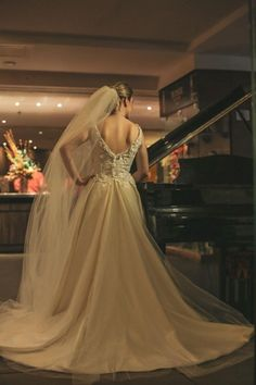 Vestido de noiva de Mayra