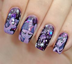 This is some amazing nail painting