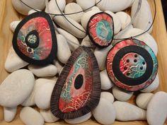 Beautiful pendants by Carenja