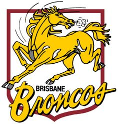 Brisbane broncos club the old symbol Nrl Broncos, Broncos Logo, National Rugby League, Brisbane Broncos, Sports Clubs, Sports Logos, Old Logo, Brisbane Australia, Retro Logos