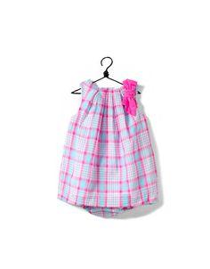 neon checked dress - Collection - Mini (0-9 months) - Kids - ZARA Canada