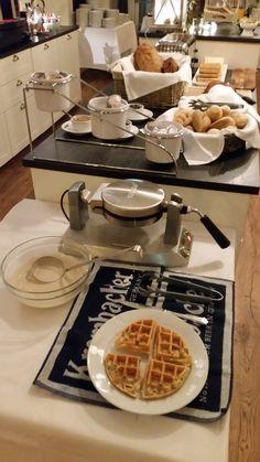 Breakfast buffet at Hotel Grimsborgir