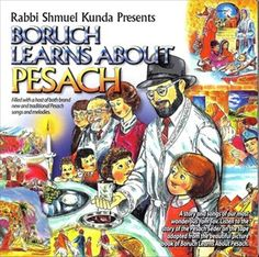 Boruch Learns About Pesach - CD