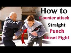How to counter attack straight punch - YouTube