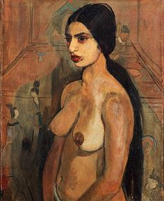 Amrita Sher-Gil in Self Portrait as Tahitian